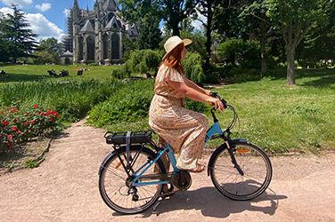 Balade à vélo dans Rouen